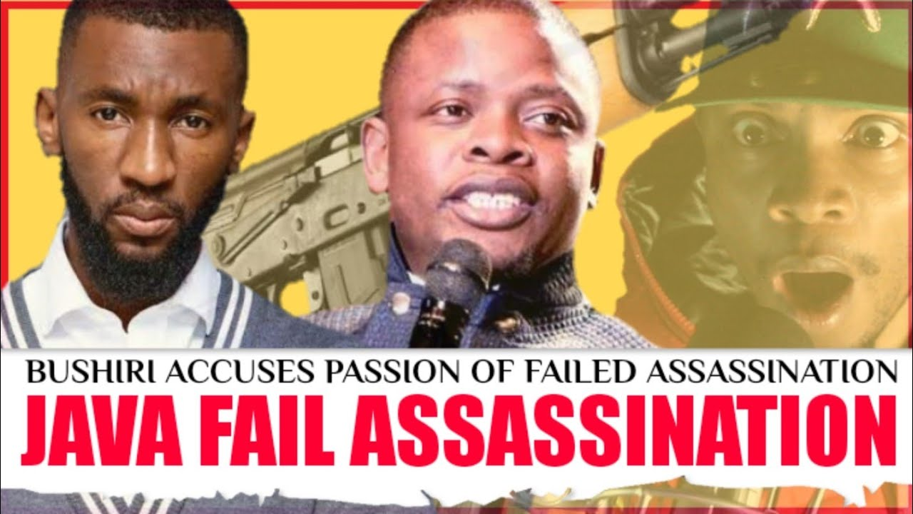 Prophet Passion Java accused of the assassination attempt on Prophet Bushiri - Major 1