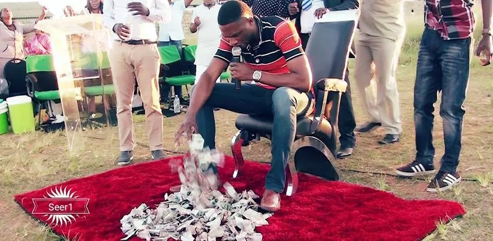 VIDEO: Nigerian pastor uses ancestral powers to perform miracles, says it's the power of God