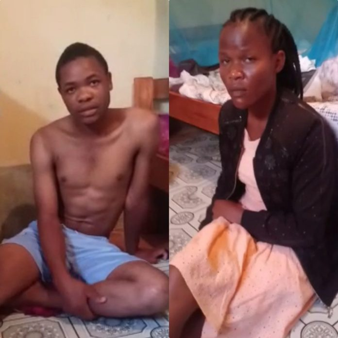 Video: Nairobi University Student Caught Having 5e.x With Lecturer's Wife