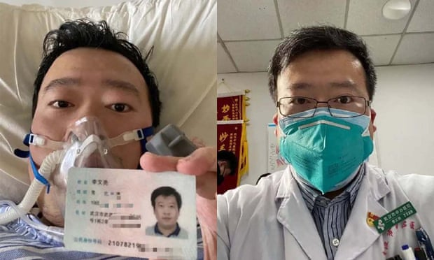 CHINA MOURNS AS THE DOCTOR WHO UNCOVERED CORONAVIRUS DIES OF CORONAVIRUS INFECTION