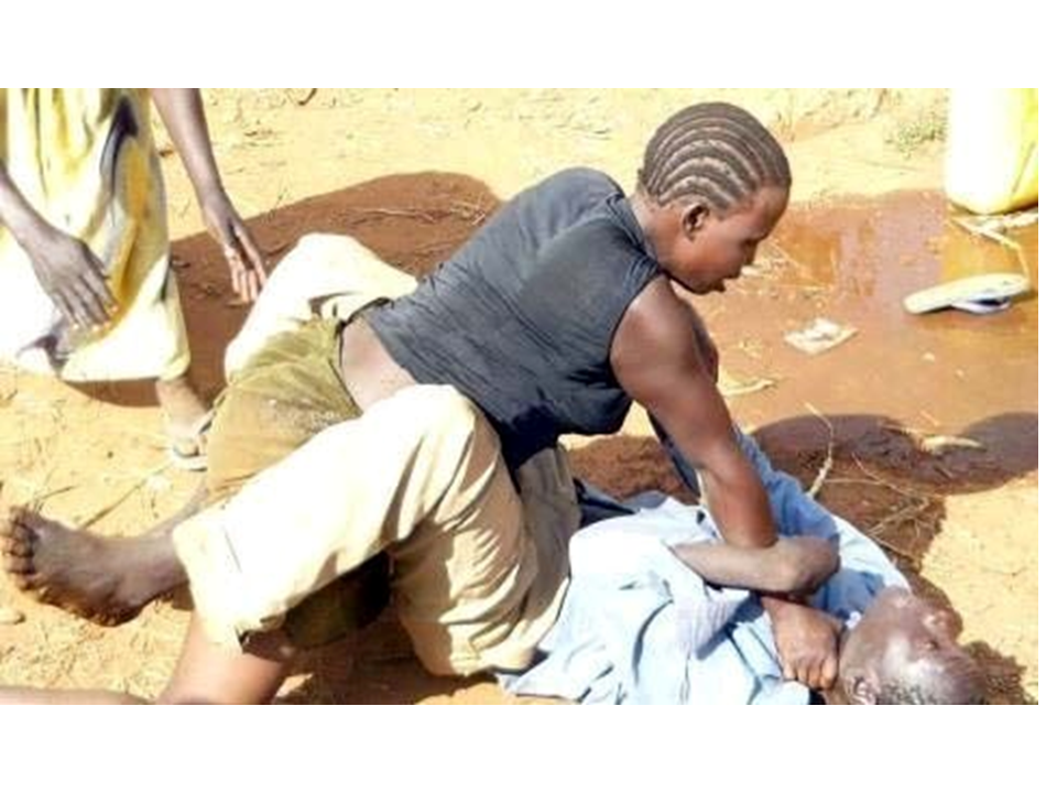 Zimbabwean wife stabs husband for interrupting her s3x session with two boyfriends