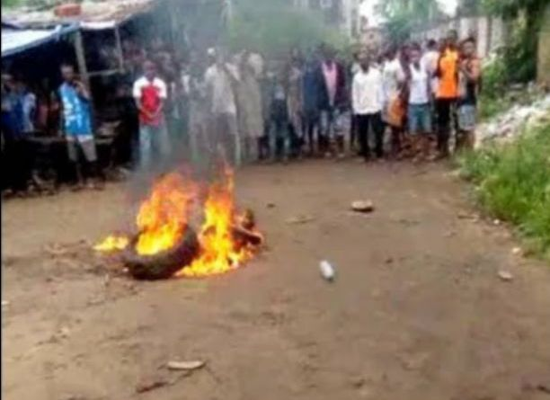 Woman burnt alive for cooking with mortuary water in Delta State