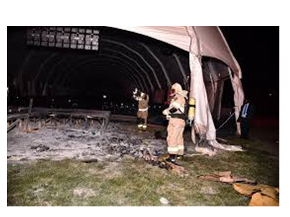 Evil men fail to burn down Bushiri's Church tent