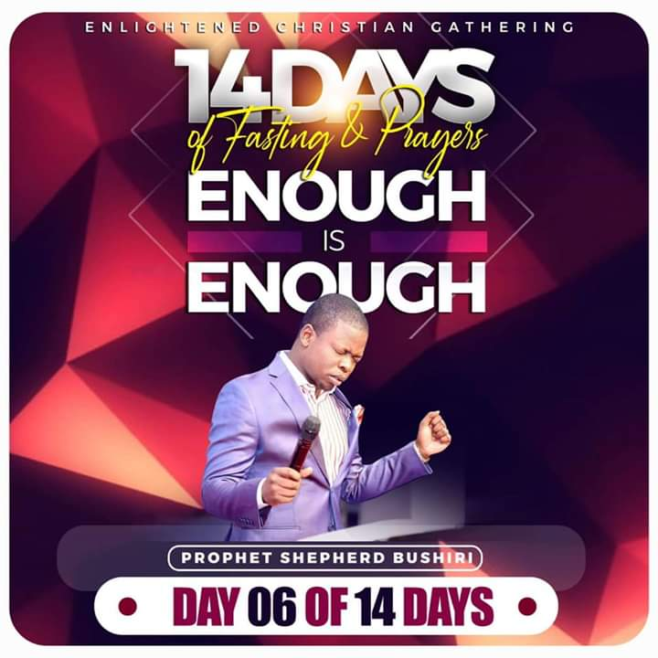 ENOUGH IS ENOUGH FASTING & PRAYER WITH MAJOR 1 – Day 6 Prayer Points