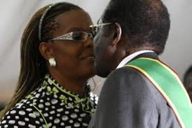 FROM A SECRETARY TO A WIFE: HOW MUGABE TOASTED GRACE