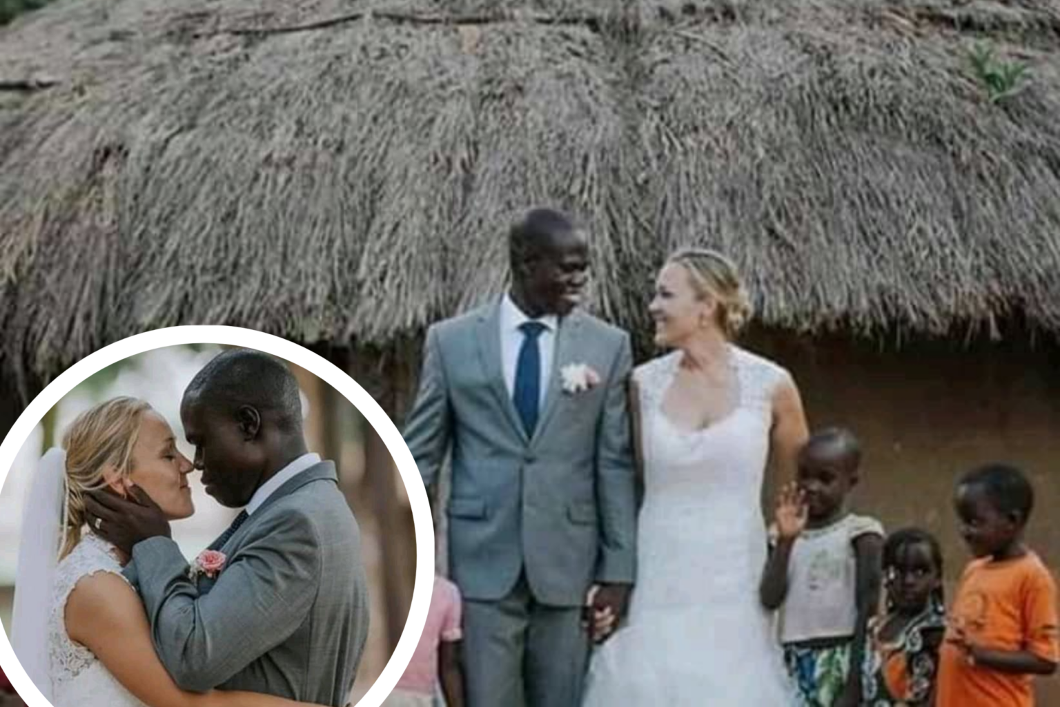 Canadian woman marries African father after his wife left him because of poverty