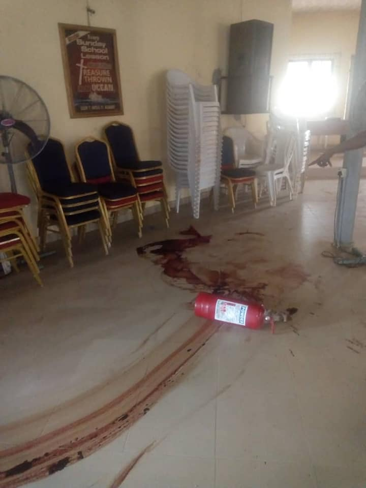 100-level Uniben student raped and murdered inside a church (Graphic photos)