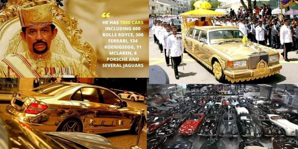 THE MAN WITH SEVEN THOUSAND PRIVATE CARS