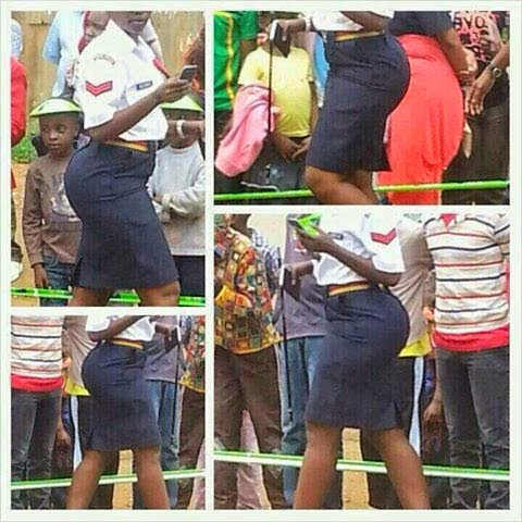Lady said to be too sexy for Kenya's police